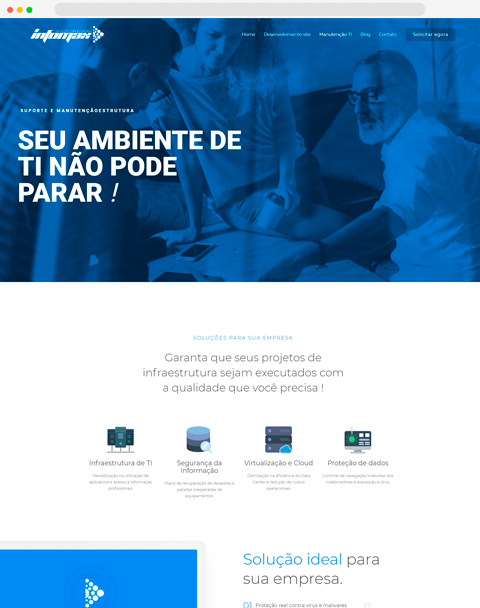 InfomaxBrasil – Manutenção de TI