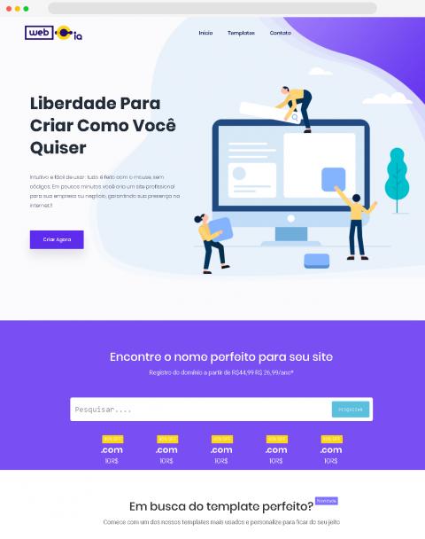 Webcia – Desenvolvimentos de Sites